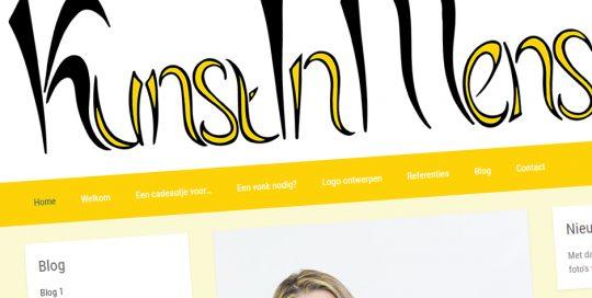 Website van Kunst In Mensen