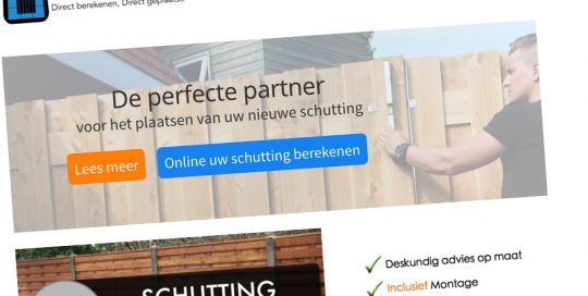 Website Direct Schutting