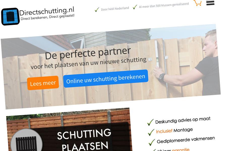 Website Direct Schutting
